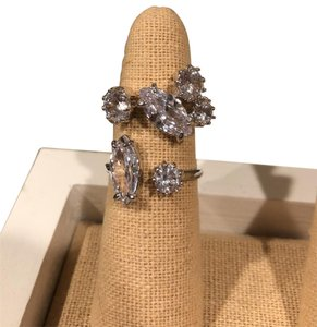 Chloe + Isabel Cocktail Hour CZ Open Band Ring