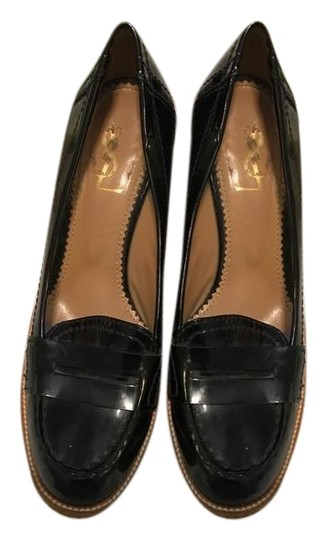 Preload https://img-static.tradesy.com/item/25794755/saint-laurent-black-penny-loafers-wedges-size-us-7-regular-m-b-0-1-540-540.jpg