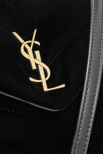 Saint Laurent Ysl Loulou Shoulder Red Cross Body Bag Image 4