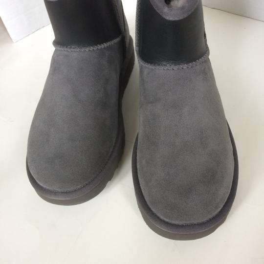 UGG Australia New With Tags GREY / BLACK Boots Image 6