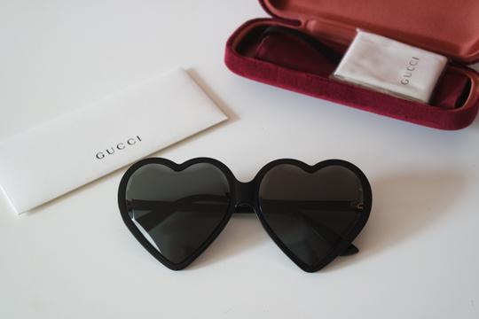 Gucci NEW Gucci GG0360S 0360S Heart Sunglasses Image 1