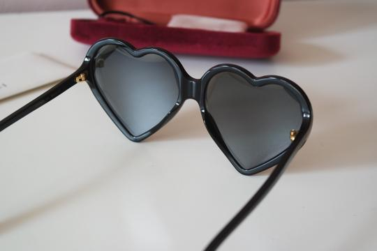 Gucci NEW Gucci GG0360S 0360S Heart Sunglasses Image 5