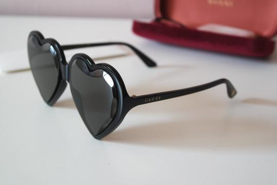 Gucci NEW Gucci GG0360S 0360S Heart Sunglasses Image 8