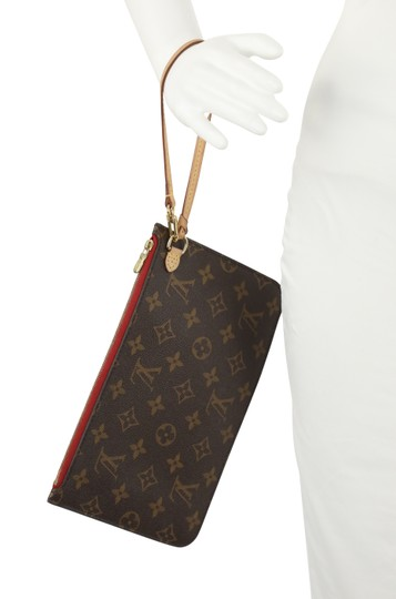 Louis Vuitton Wristlet in Brown Image 11