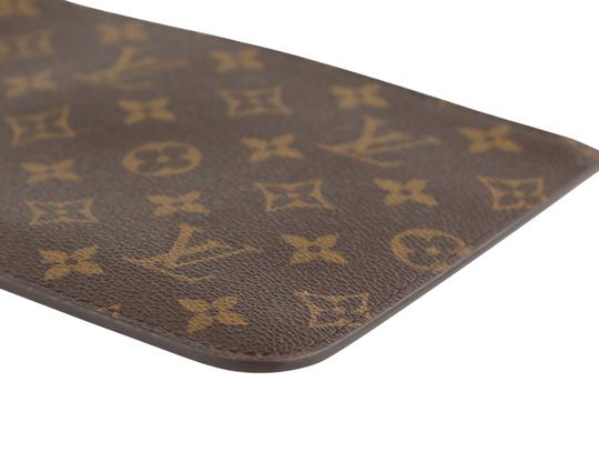 Louis Vuitton Wristlet in Brown Image 6