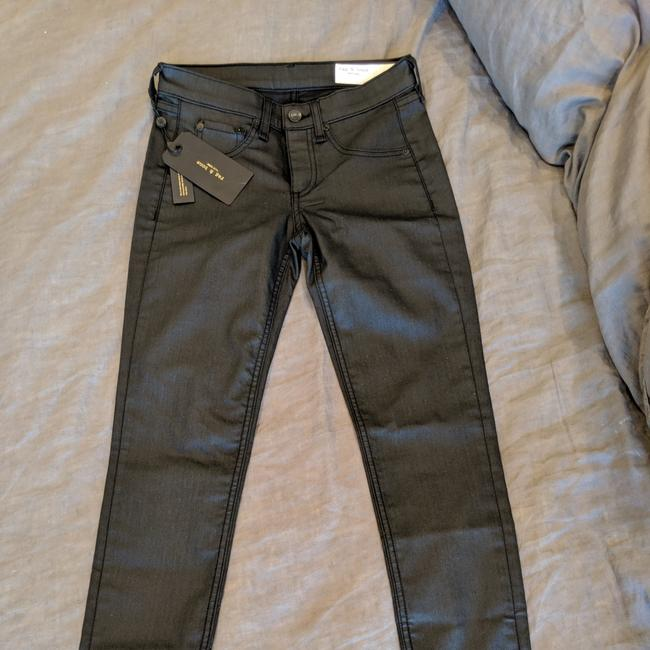 Preload https://item3.tradesy.com/images/rag-and-bone-black-coated-19126-skinny-jeans-size-25-2-xs-25794842-0-3.jpg?width=400&height=650
