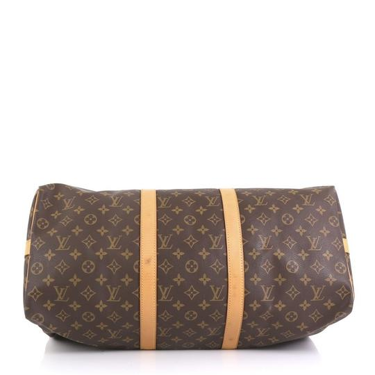 Louis Vuitton Keepall Bandouliere brown Travel Bag Image 3