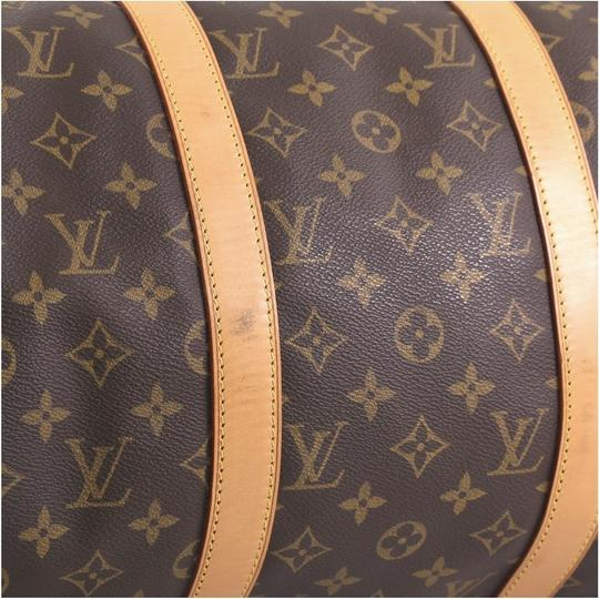 Louis Vuitton Keepall Bandouliere brown Travel Bag Image 5