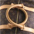 Louis Vuitton Keepall Bandouliere brown Travel Bag Image 6