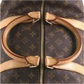 Louis Vuitton Keepall Bandouliere brown Travel Bag Image 7