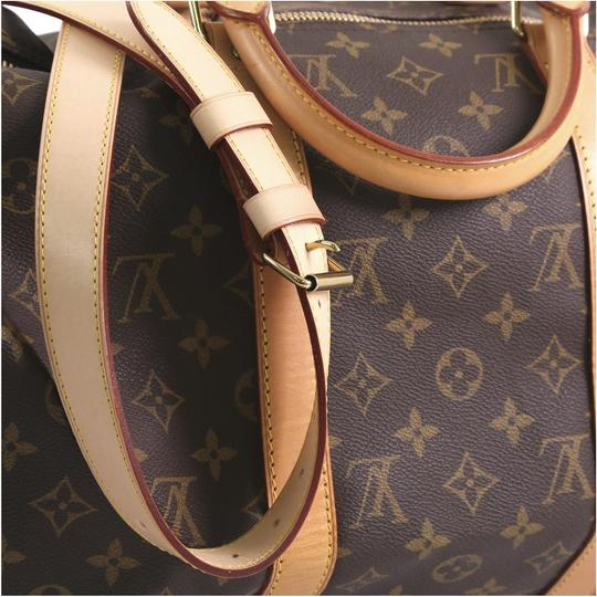 Louis Vuitton Keepall Bandouliere brown Travel Bag Image 8