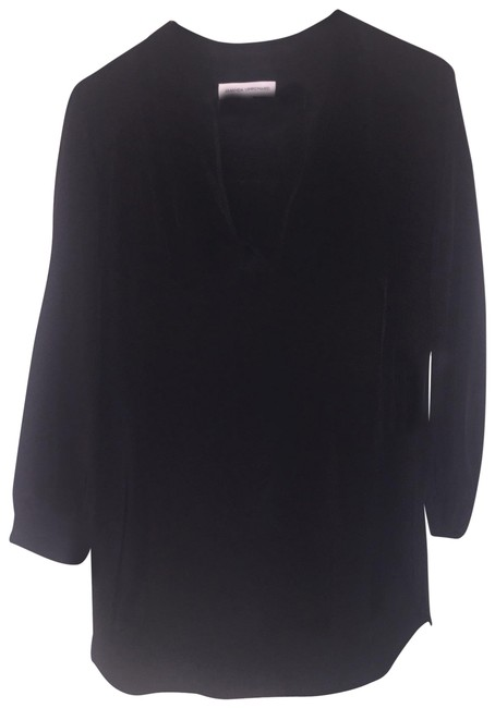 Preload https://img-static.tradesy.com/item/25794891/amanda-uprichard-black-forever-silk-tunic-size-4-s-0-1-650-650.jpg