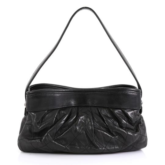 Chanel Vintage Pleated Shoulder Bag Image 2