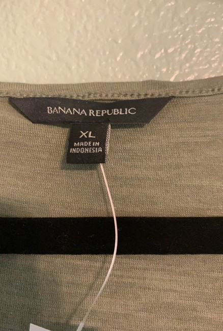 Banana Republic Top olive green Image 3