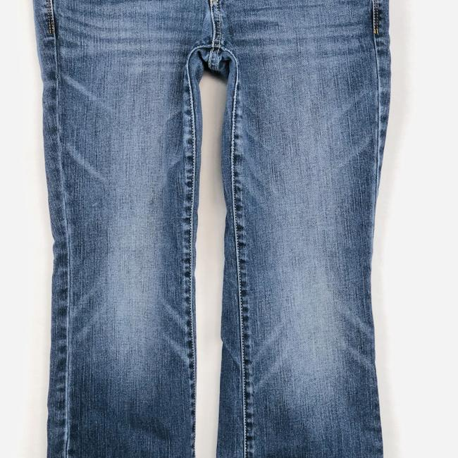 American Eagle Outfitters Slim Stretcch Boot Cut Jeans-Medium Wash Image 2