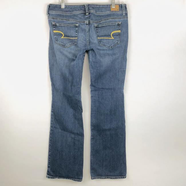 American Eagle Outfitters Slim Stretcch Boot Cut Jeans-Medium Wash Image 4