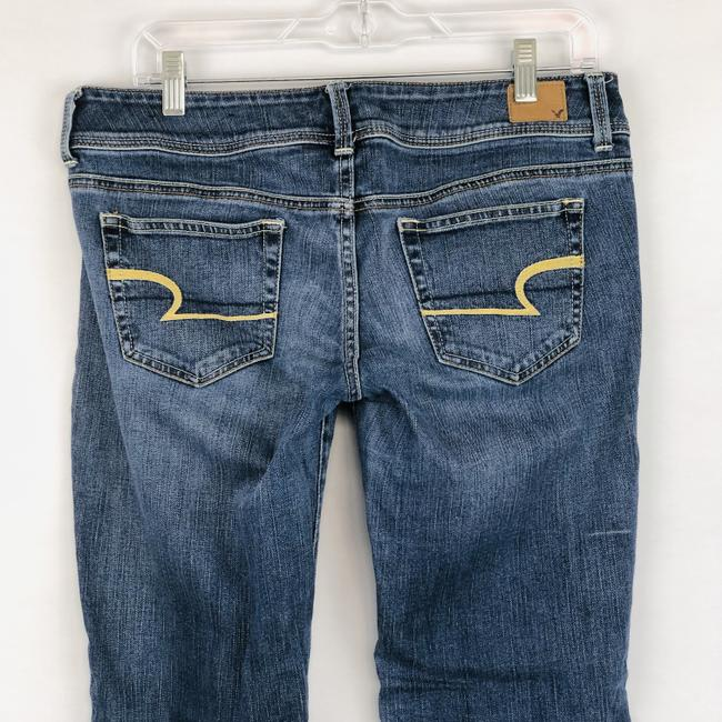 American Eagle Outfitters Slim Stretcch Boot Cut Jeans-Medium Wash Image 5