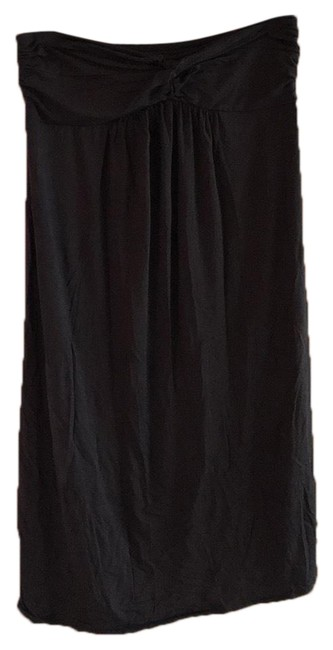 Preload https://img-static.tradesy.com/item/25795061/jcrew-slate-gray-twist-bandeau-top-knee-length-dress-cover-upsarong-size-12-l-0-3-650-650.jpg