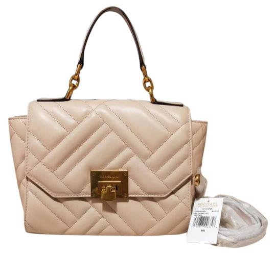 Preload https://img-static.tradesy.com/item/25795085/michael-kors-vivianne-medium-top-handle-pink-leather-satchel-0-1-540-540.jpg