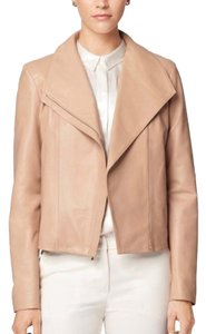 Cole Haan nude Leather Jacket