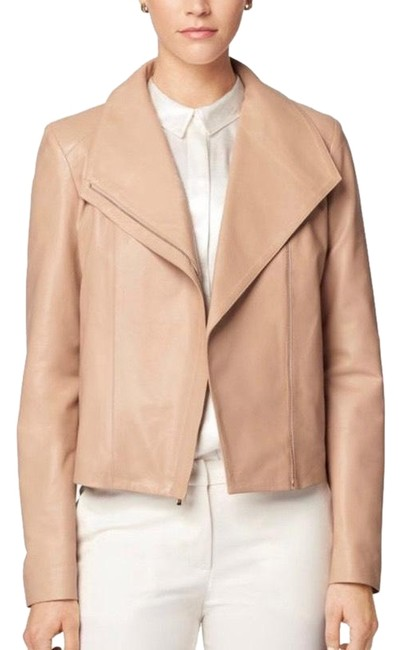 Cole Haan nude Leather Jacket Image 0