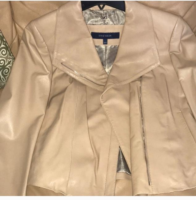 Cole Haan nude Leather Jacket Image 1