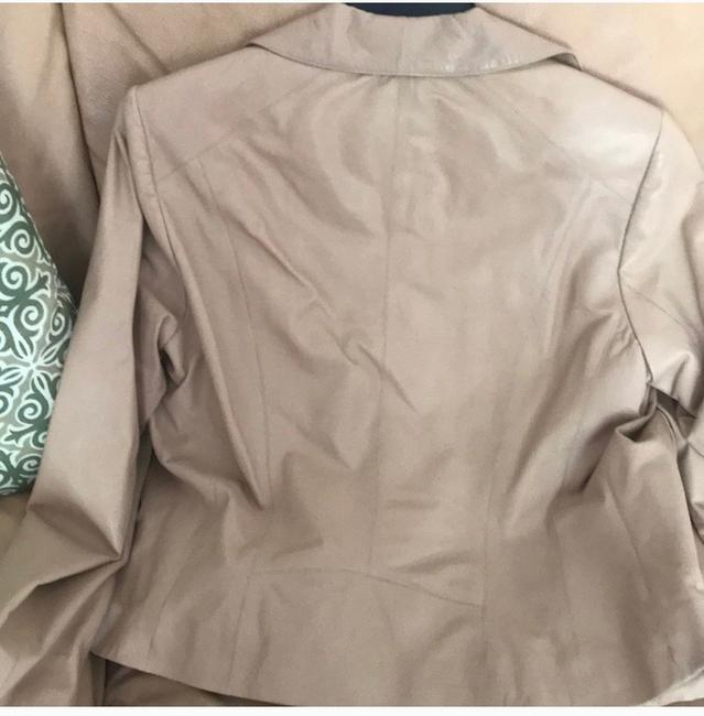 Cole Haan nude Leather Jacket Image 4