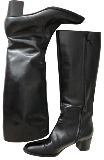 Preload https://img-static.tradesy.com/item/25795168/medium-height-leather-bootsbooties-size-eu-40-approx-us-10-regular-m-b-0-1-540-540.jpg