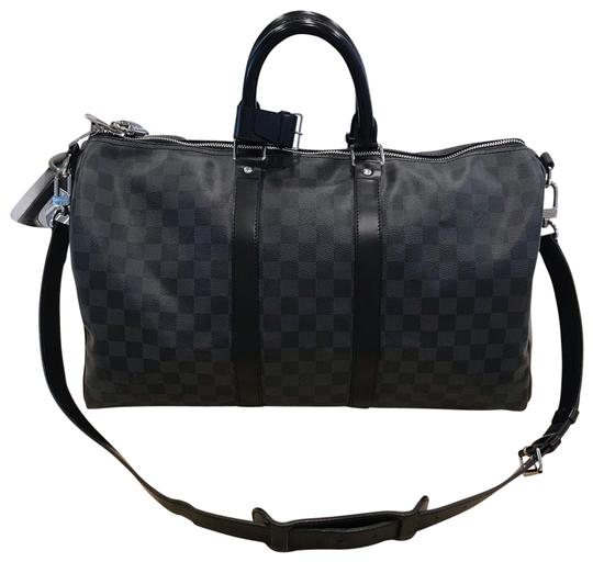 Preload https://img-static.tradesy.com/item/25795174/louis-vuitton-duffle-keepall-bandouliere-45-damier-graphite-canvas-gray-leather-weekendtravel-bag-0-1-540-540.jpg