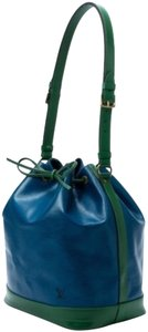 Louis Vuitton Tote in green & blue