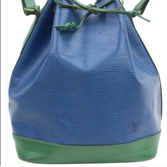Louis Vuitton Tote in green & blue Image 1