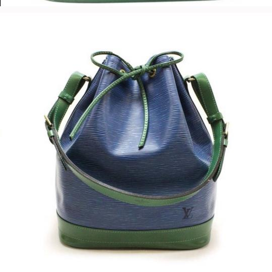 Louis Vuitton Tote in green & blue Image 2