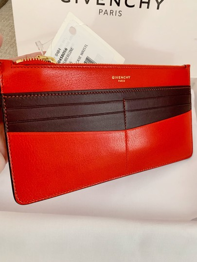 Givenchy Red Aubergine Clutch Image 2