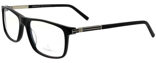 Charriol PC7505-C01-56 Rectangle Mens Black Frame Clear Lens Genuine Eyeglasses Image 0
