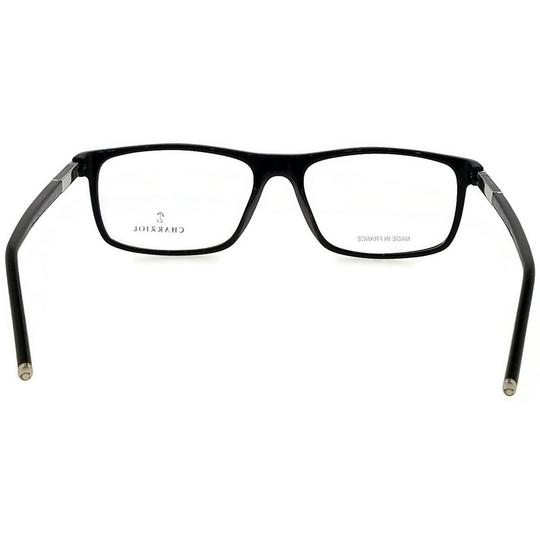 Charriol PC7505-C01-56 Rectangle Mens Black Frame Clear Lens Genuine Eyeglasses Image 3