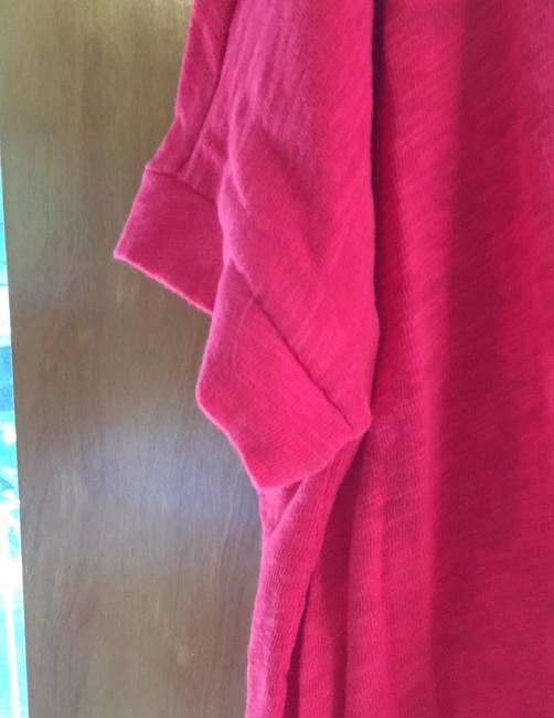 Universal Thread New With Tags Textured T Shirt Bright Red Image 3
