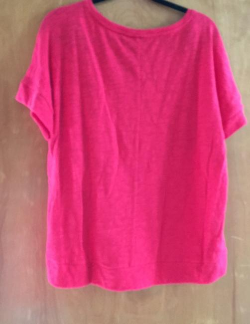 Universal Thread New With Tags Textured T Shirt Bright Red Image 7