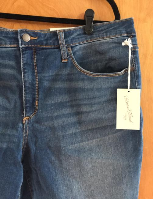 Universal Thread High Rise Crop New With Tags Skinny Jeans-Medium Wash Image 3