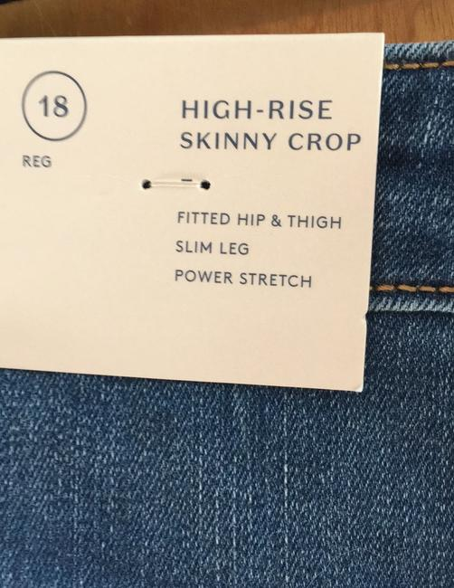 Universal Thread High Rise Crop New With Tags Skinny Jeans-Medium Wash Image 4