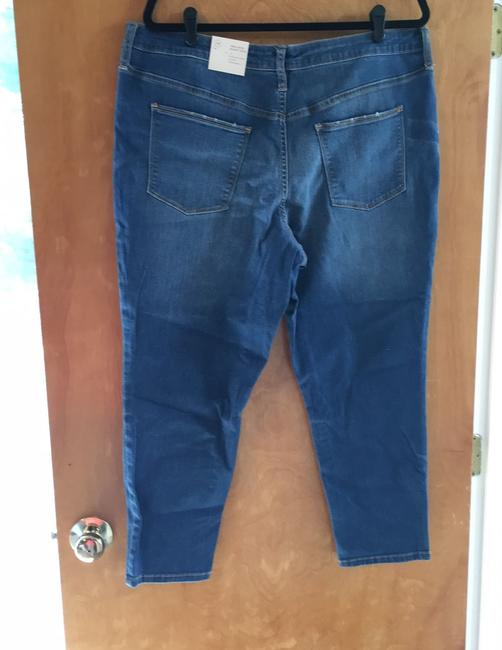 Universal Thread High Rise Crop New With Tags Skinny Jeans-Medium Wash Image 5