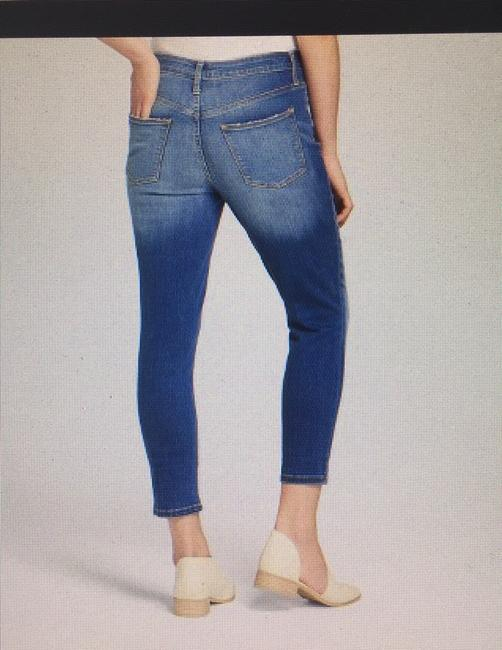 Universal Thread High Rise Crop New With Tags Skinny Jeans-Medium Wash Image 6