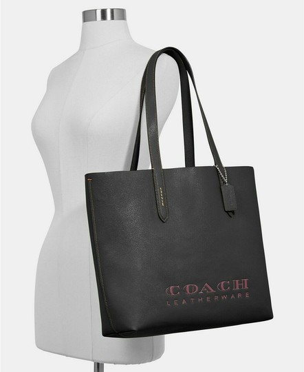 Coach Lexy Tote in BLACK Image 4