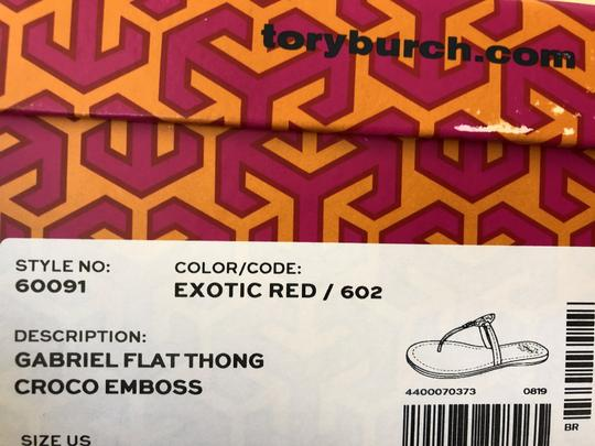 Tory Burch Red Sandals Image 8