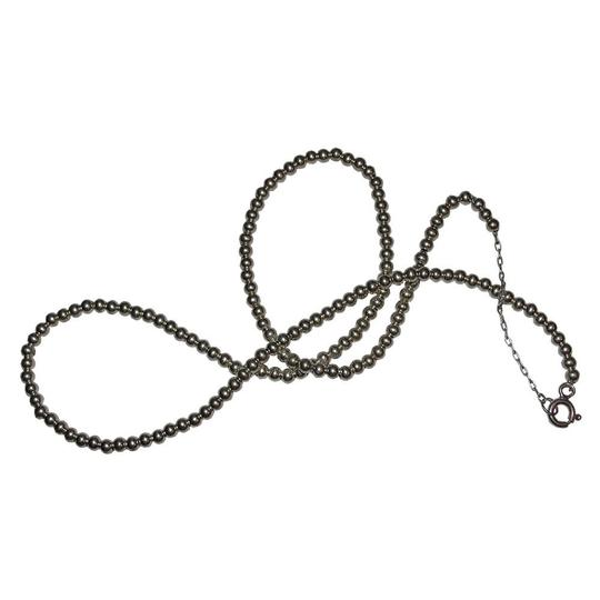 Sterling Silver Sterling Silver Bead Ball Necklace Image 2
