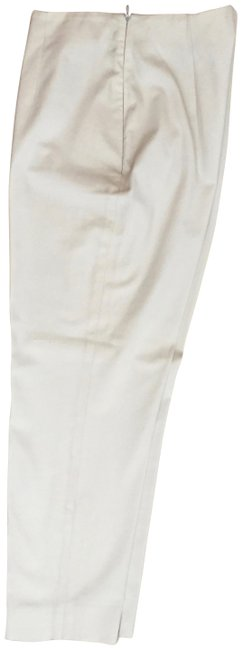 Item - Cream Eggshell Leg Crop 38 Made In Italy Pants Size 2 (XS, 26)