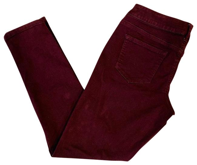 Preload https://img-static.tradesy.com/item/25795396/maurices-deep-wine-color-skinny-jeans-size-petite-8-m-0-2-650-650.jpg