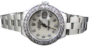 Rolex Ladies Datejust 26MM Oyster White MOP Dial Diamond 2.5 Ct