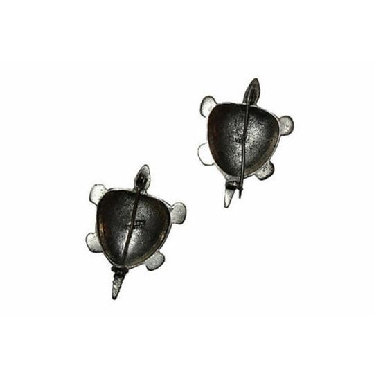 Sterling Mexican Sterling Turtle Pin, S/2 Image 2