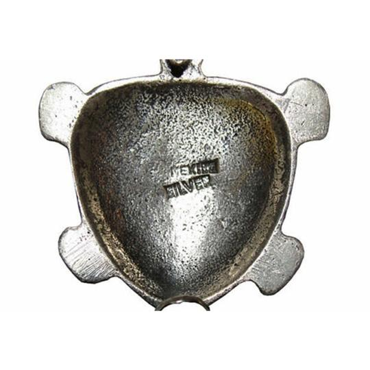 Sterling Mexican Sterling Turtle Pin, S/2 Image 3