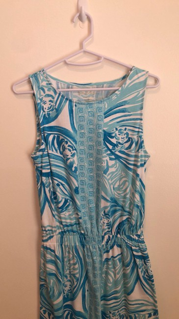 Lilly Pulitzer short dress light blue and white on Tradesy Image 6
